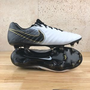 Nike Tiempo Legend VII Elite FG White Black ACC